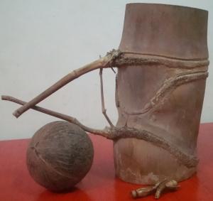 Bambu Petok (dilihat dari samping)