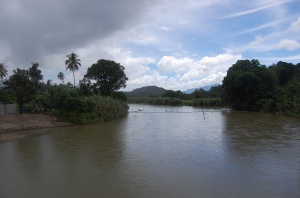 Sebuah snapshot Sibulan-bulan, tempat kelahiran almarhum, desa kecil yang subur di blok Barat DAS Batangtoru