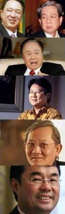Lima terkaya di Indonesia