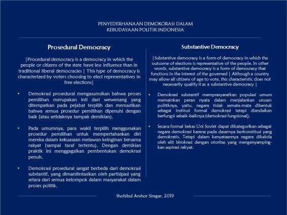 Penyederhanaan Demokrasi